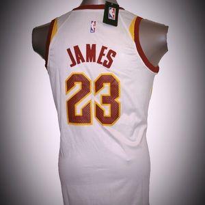 Nike Shirts - Lebron James Cleveland Cavaliers white jersey a1e877c06